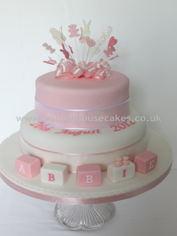 Cake Designs For Christening Baby Girl : Christening and Naming Cakes - Vallum House Cakes